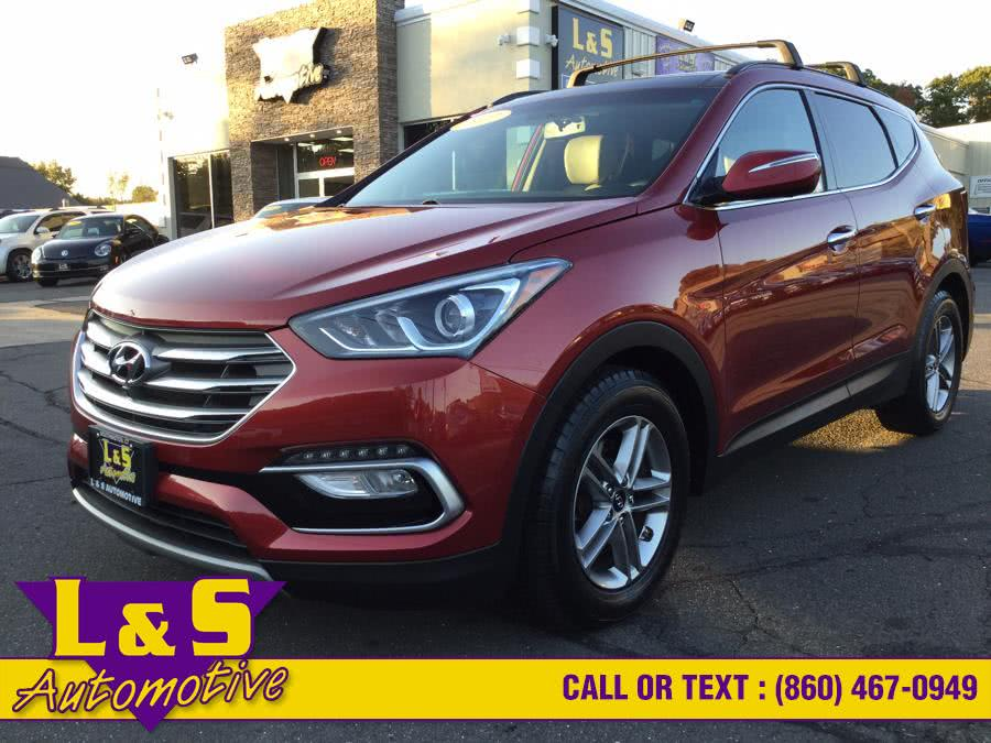 Used 2017 Hyundai Santa Fe Sport in Plantsville, Connecticut | L&S Automotive LLC. Plantsville, Connecticut