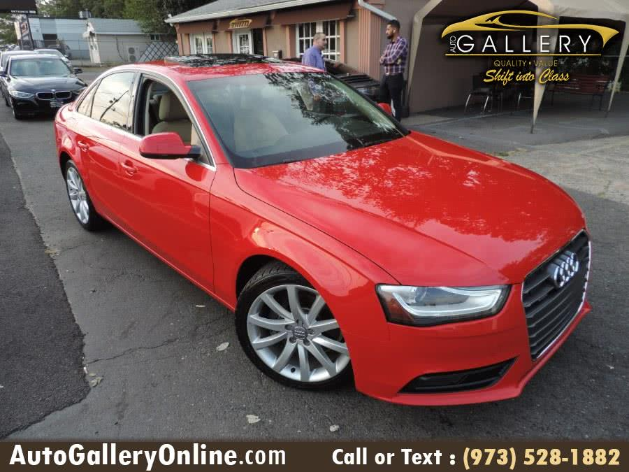 Used 2013 Audi A4 in Lodi, New Jersey | Auto Gallery. Lodi, New Jersey