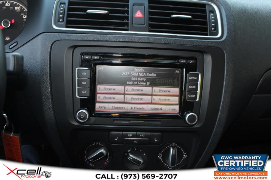 Used Volkswagen Jetta Sedan 4dr Auto SE w/Convenience & Sunroof PZEV 2011 | Xcell Motors LLC. Paterson, New Jersey