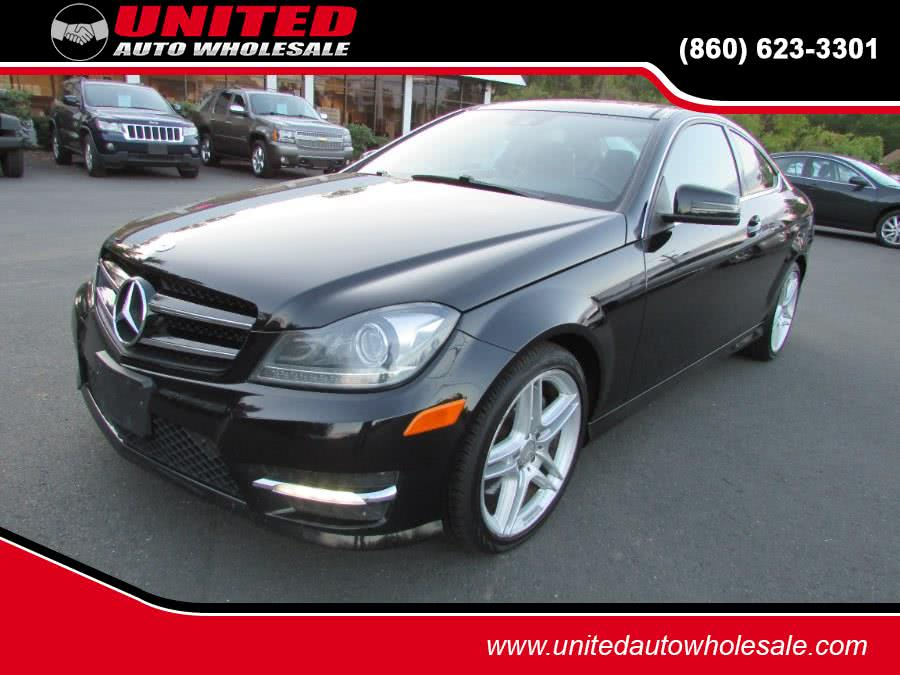 Used Mercedes-Benz C-Class 2dr Cpe C 350 RWD 2014 | United Auto Sales of E Windsor, Inc. East Windsor, Connecticut