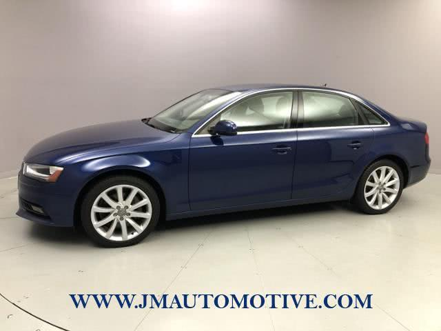 Used 2013 Audi A4 in Naugatuck, Connecticut | J&M Automotive Sls&Svc LLC. Naugatuck, Connecticut
