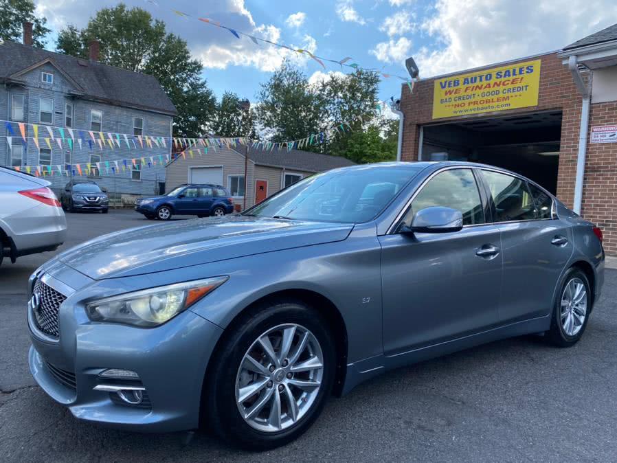 Used Infiniti Q50 4dr Sdn AWD Premium 2014 | VEB Auto Sales. Hartford, Connecticut