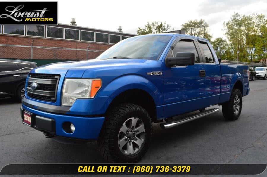 "Used Ford F-150 4WD SuperCab 163"" XL 2014 | Locust Motors LLC. Hartford, Connecticut"