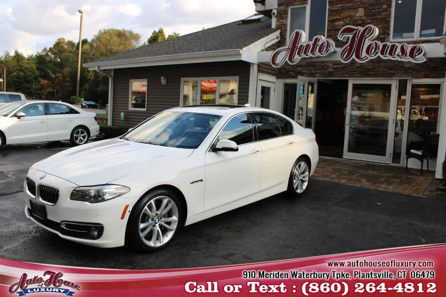 Used BMW 5 Series 4dr Sdn 535i xDrive AWD 2014 | Auto House of Luxury. Plantsville, Connecticut