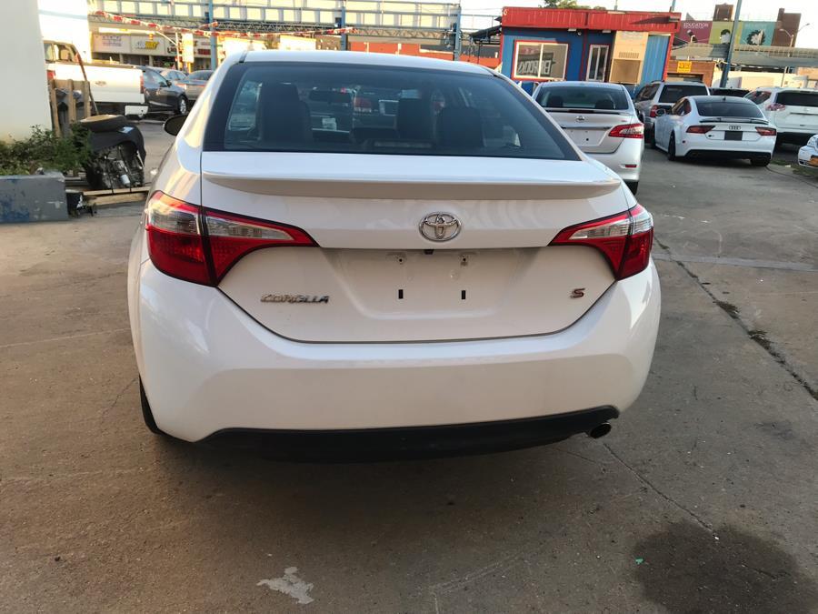 Used Toyota Corolla 4dr Sdn CVT S Premium (Natl) 2016 | Brooklyn Auto Mall LLC. Brooklyn, New York