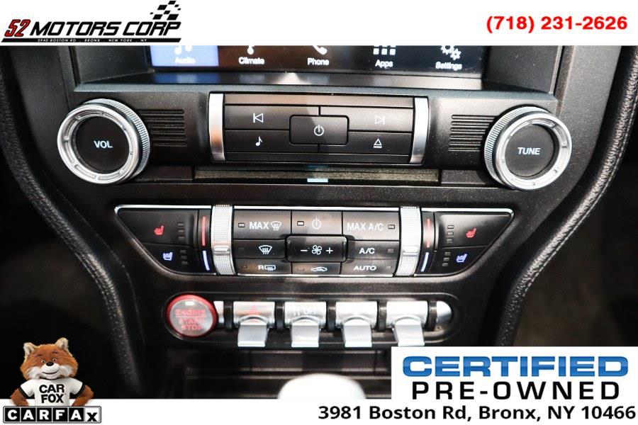 Used Ford Mustang EcoBoost Premium Convertible 2018 | 52Motors Corp. Woodside, New York