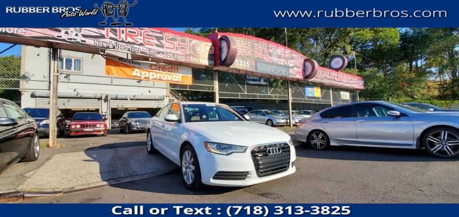 Used 2015 Audi A6 in Brooklyn, New York | Rubber Bros Auto World. Brooklyn, New York