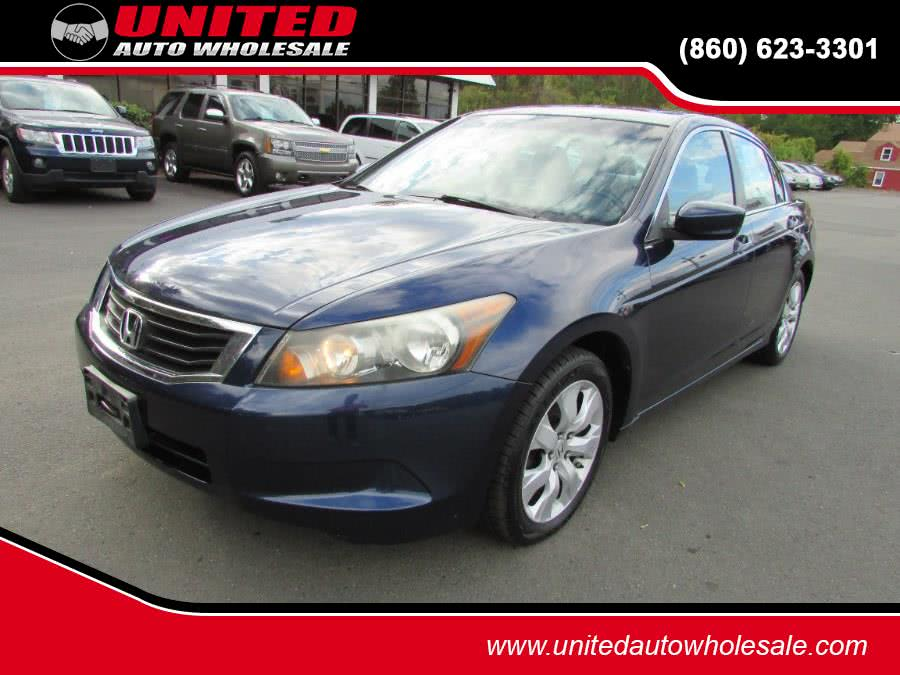Used 2009 Honda Accord Sdn in East Windsor, Connecticut | United Auto Sales of E Windsor, Inc. East Windsor, Connecticut