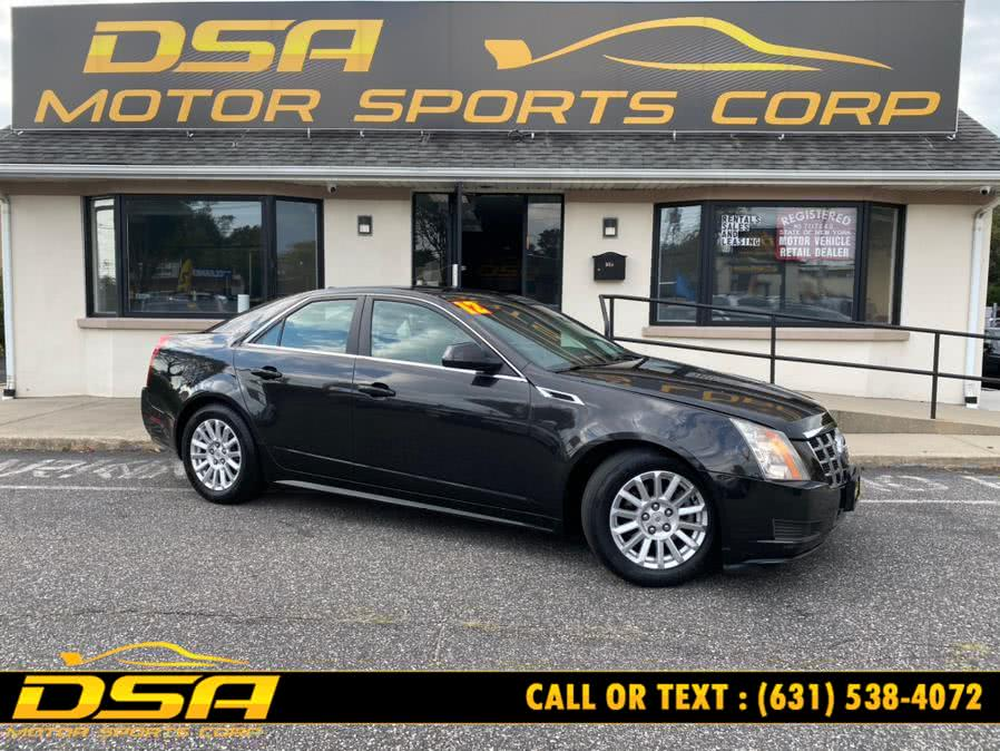 Used 2012 Cadillac CTS Sedan in Commack, New York   DSA Motor Sports Corp. Commack, New York