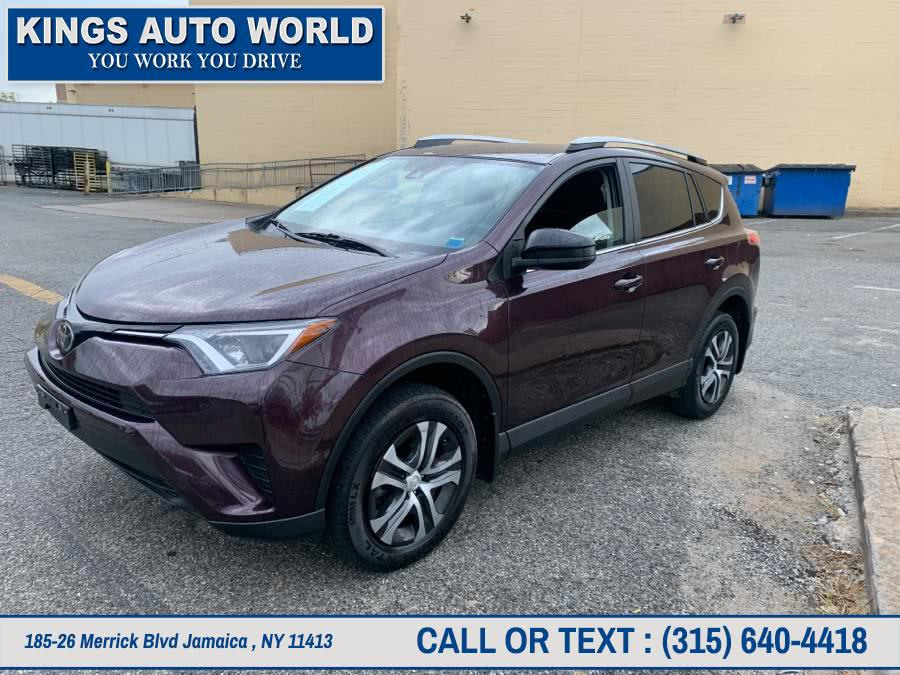 Used Toyota RAV4 LE AWD (Natl) 2018 | Kings Auto World. Jamaica , New York