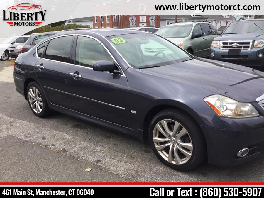 Used Infiniti M35 4dr Sdn AWD 2009 | Liberty Motors. Manchester, Connecticut