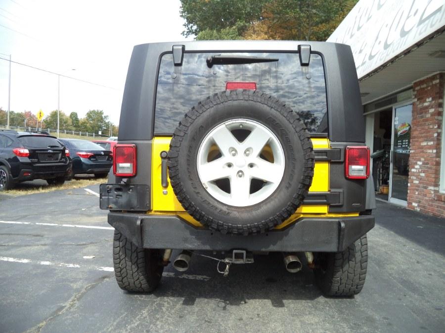 Used Jeep Wrangler 4WD 2dr X 2008 | Riverside Motorcars, LLC. Naugatuck, Connecticut