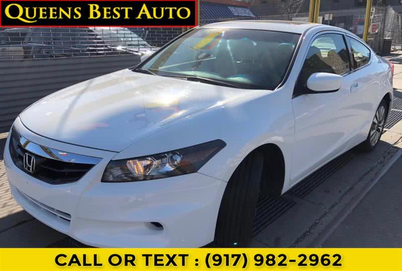 Used Honda Accord Cpe 2dr I4 Auto EX-L w/Navi 2012 | Queens Best Auto, Inc.. Jamaica, New York