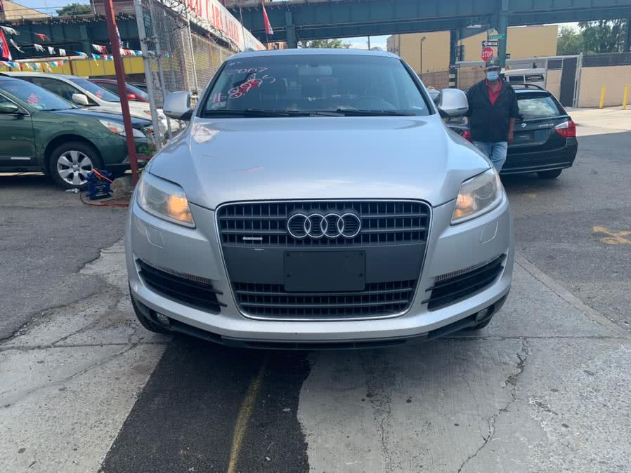 Used 2007 Audi Q7 in Brooklyn, New York | Atlantic Used Car Sales. Brooklyn, New York