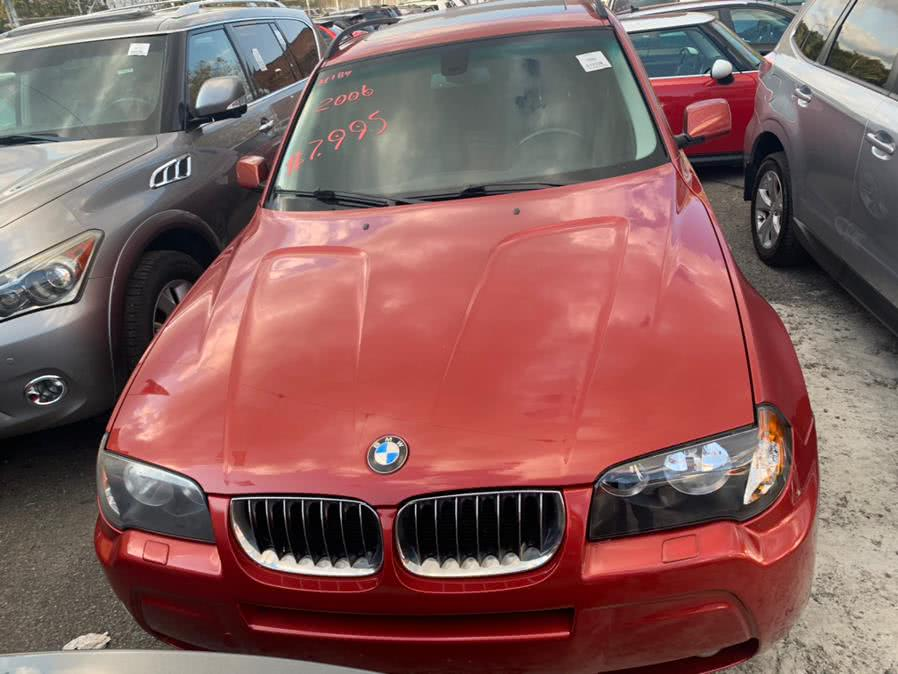 Used 2006 BMW X3 in Brooklyn, New York | Atlantic Used Car Sales. Brooklyn, New York