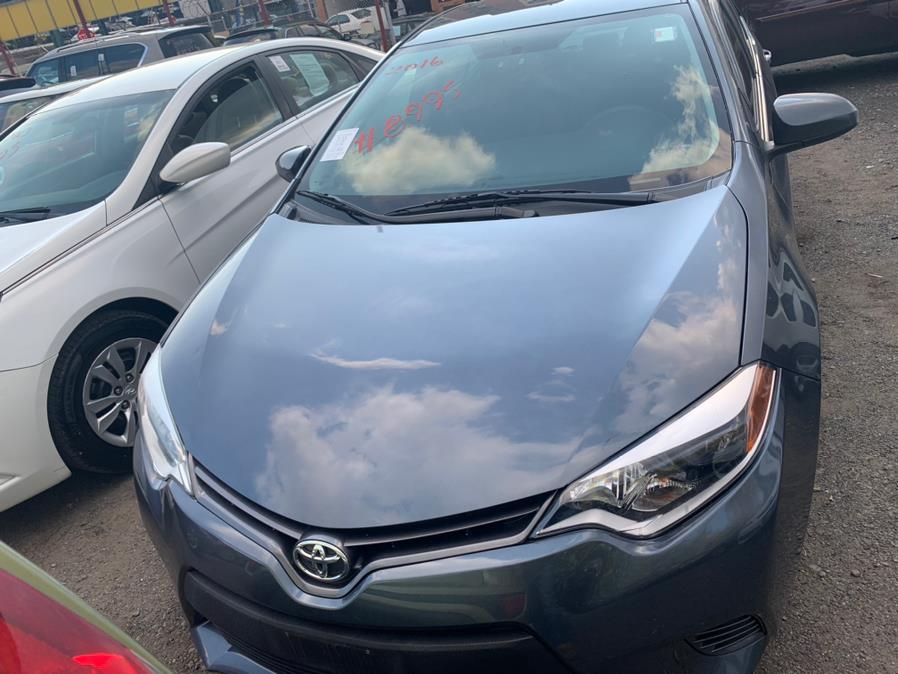 Used Toyota Corolla 4dr Sdn CVT LE (Natl) 2016 | Atlantic Used Car Sales. Brooklyn, New York