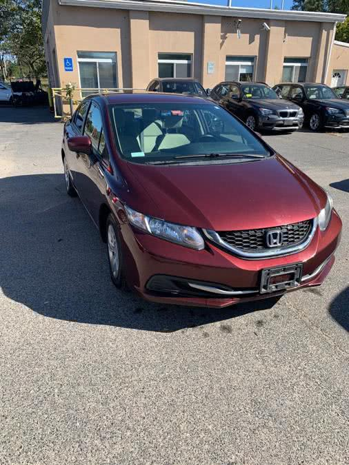 Used Honda Civic Sedan 4dr CVT LX 2015 | J & A Auto Center. Raynham, Massachusetts