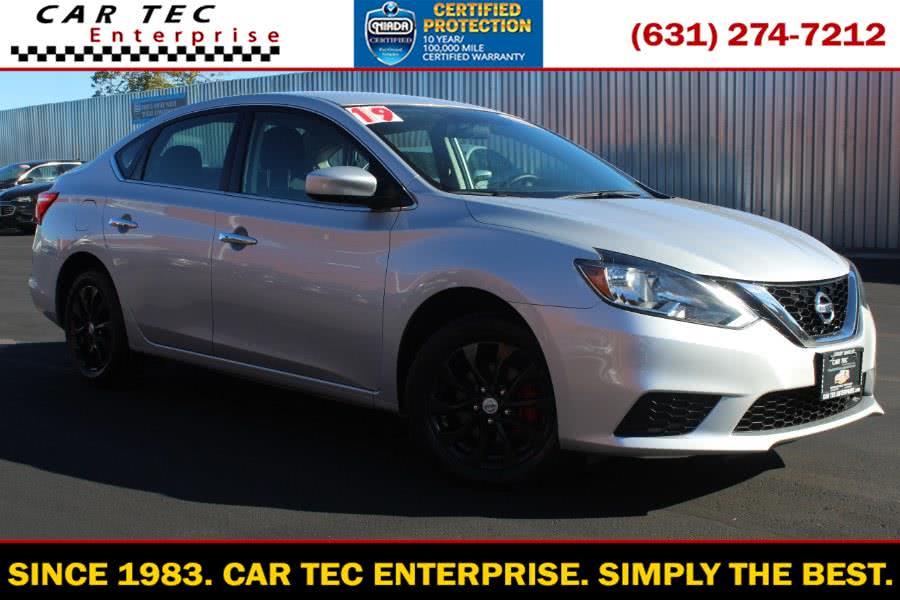 Used Nissan Sentra SV CVT 2019 | Car Tec Enterprise Leasing & Sales LLC. Deer Park, New York