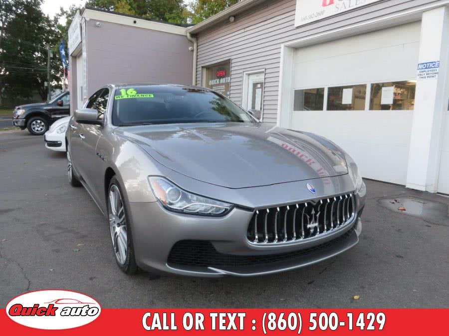 Used 2016 Maserati Ghibli in Bristol, Connecticut | Quick Auto LLC. Bristol, Connecticut