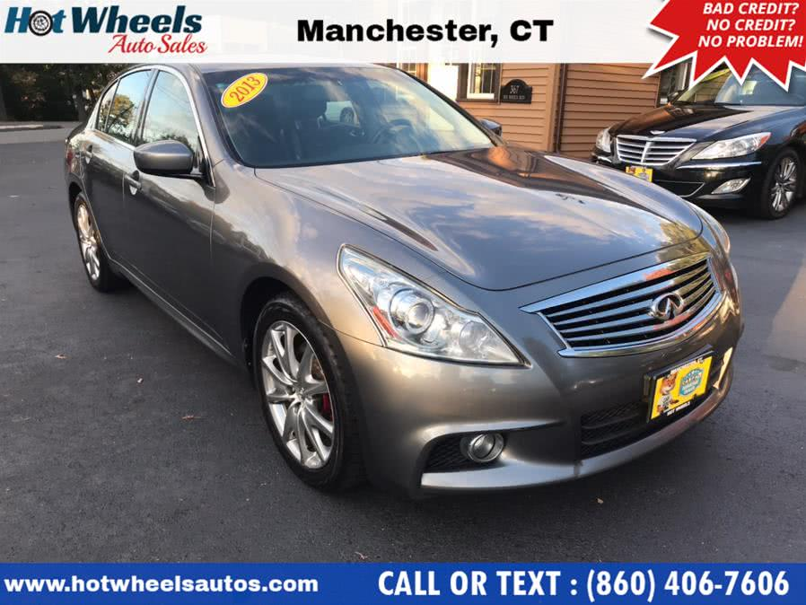 Used 2013 Infiniti G37 Sedan in Manchester, Connecticut | Hot Wheels Auto Sales LLC. Manchester, Connecticut