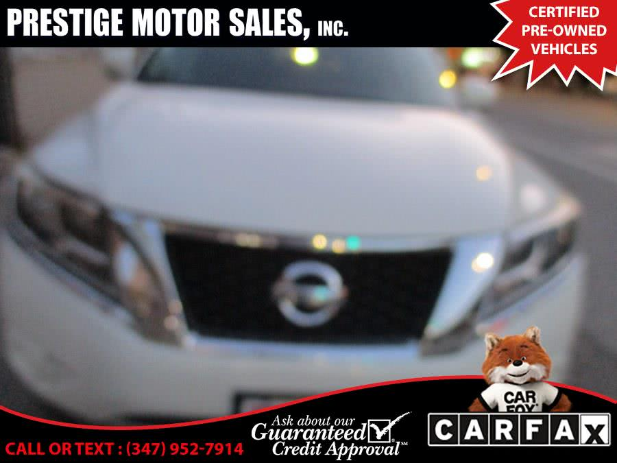 Used 2013 Nissan Pathfinder in Brooklyn, New York | Prestige Motor Sales Inc. Brooklyn, New York