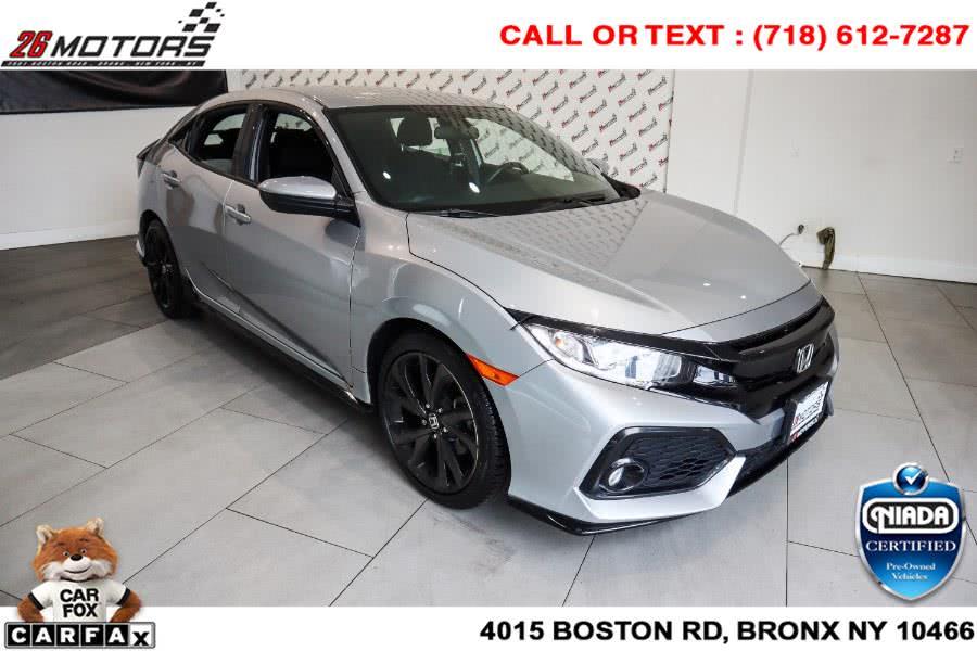 Used Honda Civic Hatchback Sport CVT 2017   26 Motors Corp. Bronx, New York