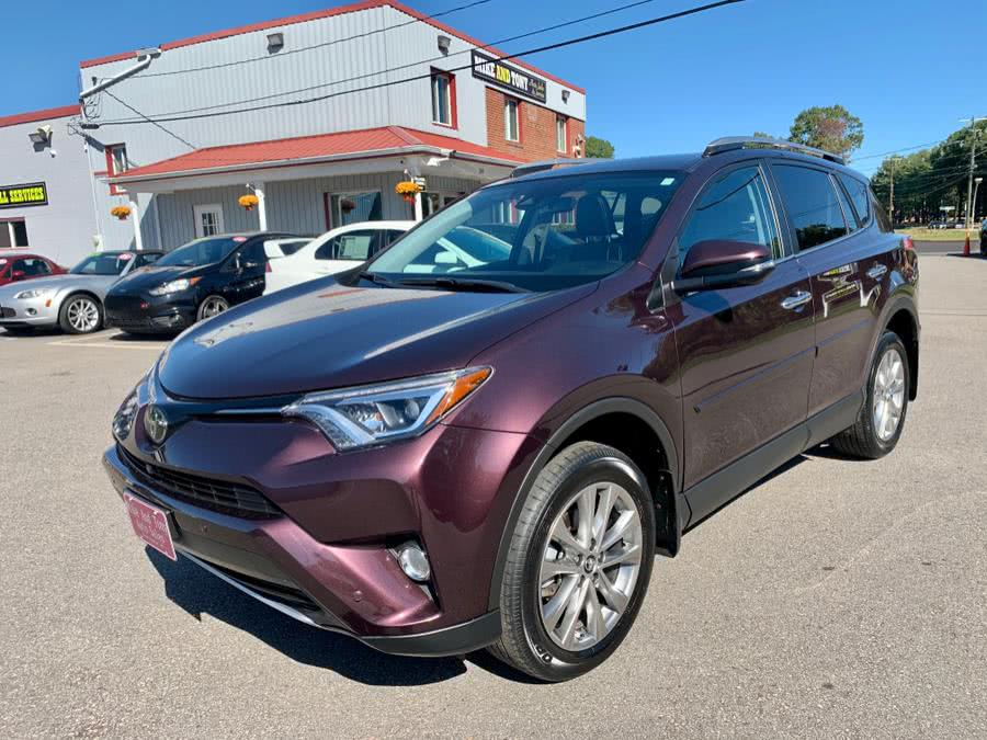 Used Toyota RAV4 Limited AWD (Natl) 2017 | Mike And Tony Auto Sales, Inc. South Windsor, Connecticut