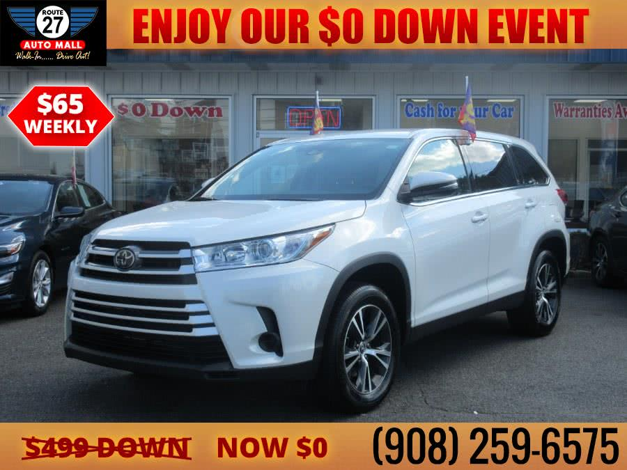 Used 2019 Toyota Highlander in Linden, New Jersey | Route 27 Auto Mall. Linden, New Jersey