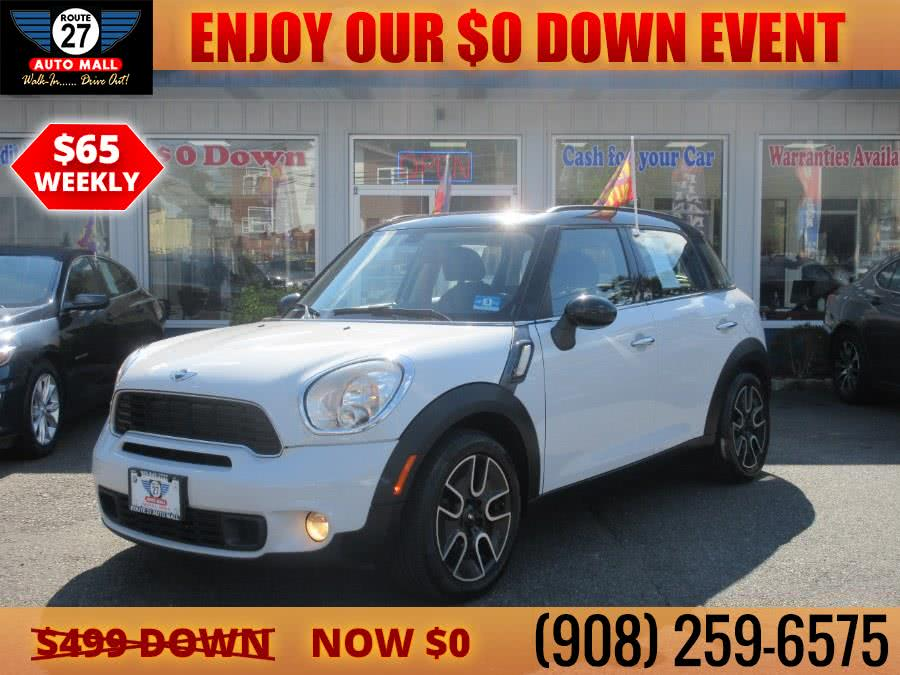 Used 2011 MINI Cooper Countryman in Linden, New Jersey | Route 27 Auto Mall. Linden, New Jersey