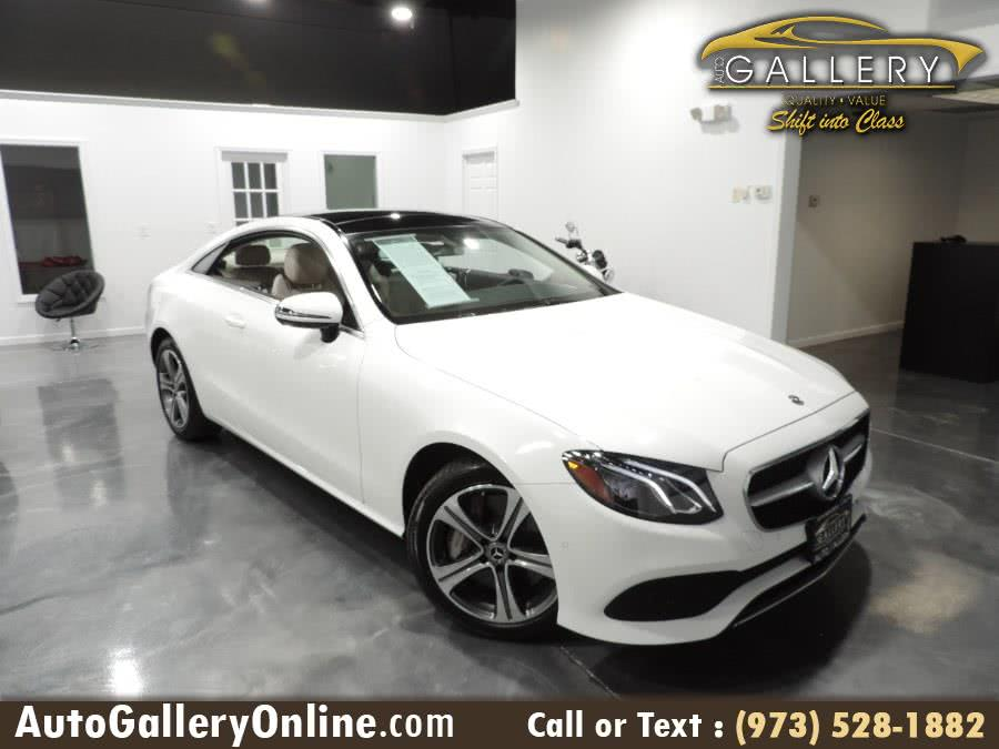 Used 2018 Mercedes-Benz E-Class in Lodi, New Jersey | Auto Gallery. Lodi, New Jersey