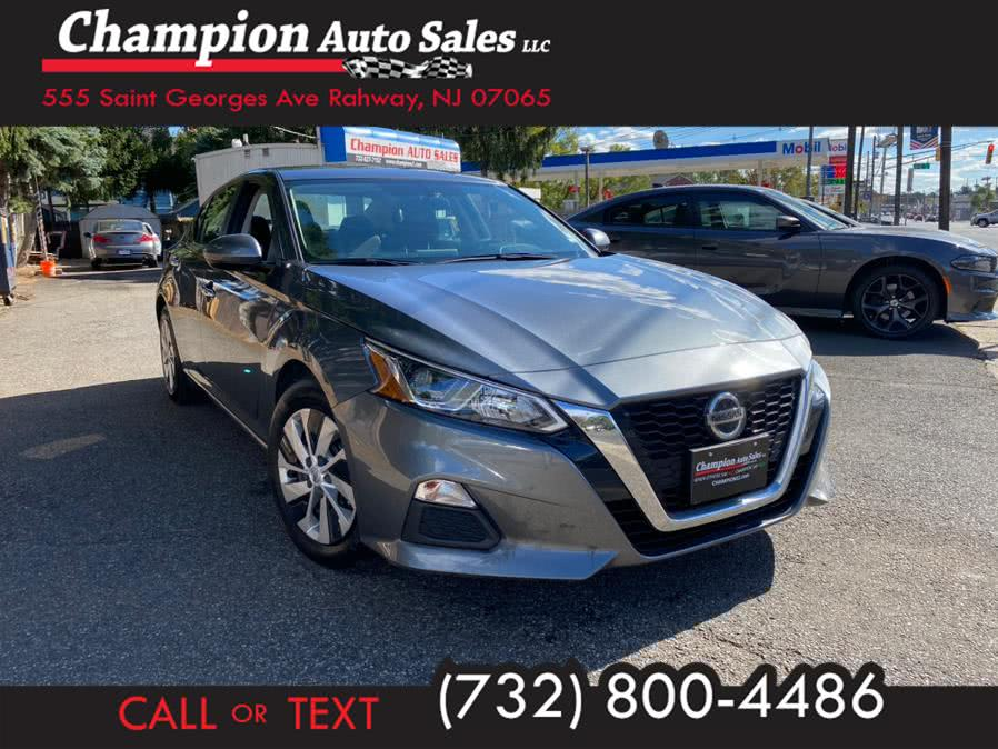 Used 2020 Nissan Altima in Rahway, New Jersey | Champion Auto Sales. Rahway, New Jersey