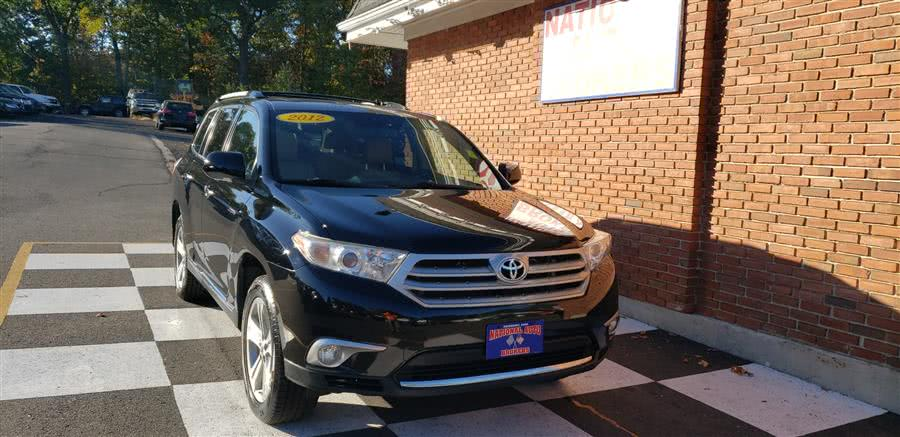 Used 2012 Toyota Highlander in Waterbury, Connecticut | National Auto Brokers, Inc.. Waterbury, Connecticut