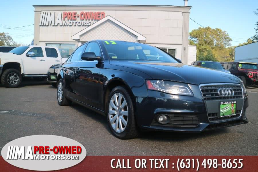 Used 2012 Audi A4 in Huntington, New York | M & A Motors. Huntington, New York