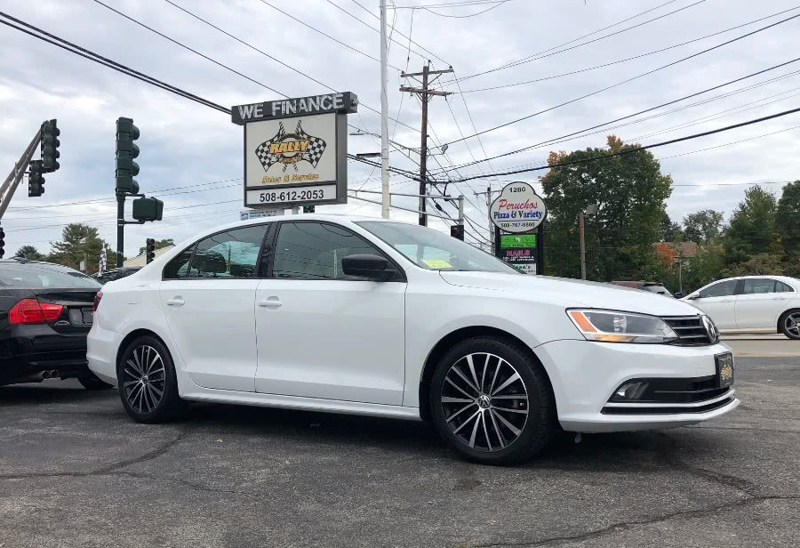 Used Volkswagen Jetta Sedan 4dr Auto 1.8T Sport PZEV 2016 | Rally Motor Sports. Worcester, Massachusetts