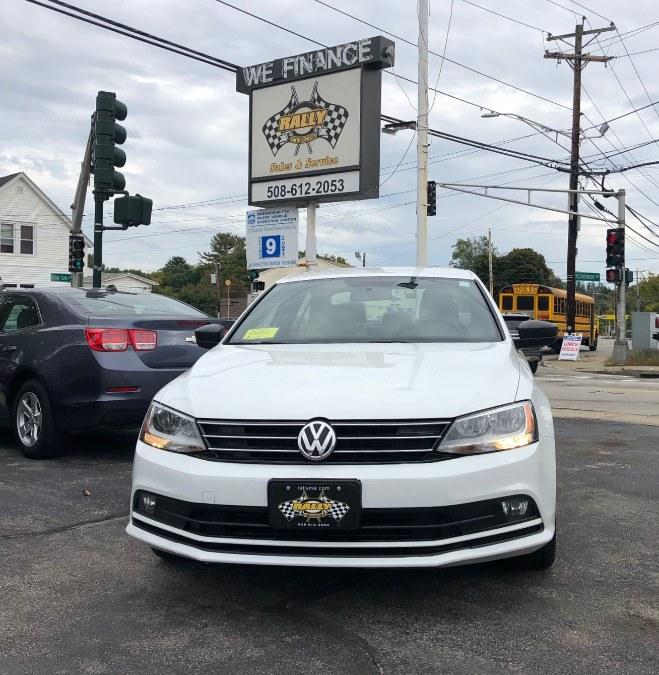 Used Volkswagen Jetta Sedan 4dr Auto 1.8T Sport PZEV 2016   Rally Motor Sports. Worcester, Massachusetts