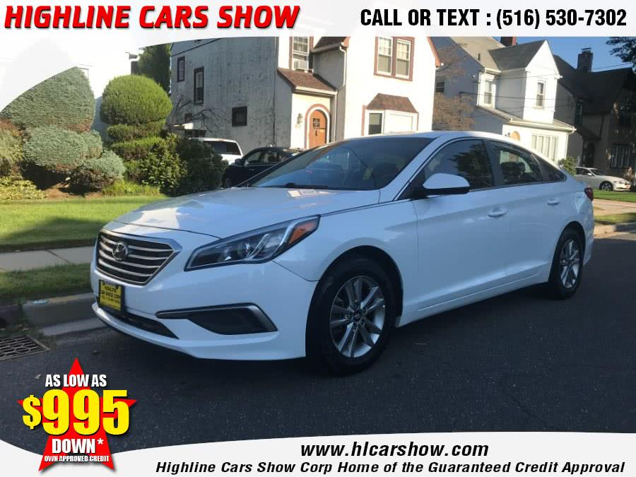 Used Hyundai Sonata 4dr Sdn 2.4L SE 2016 | Highline Cars Show Corp. West Hempstead, New York