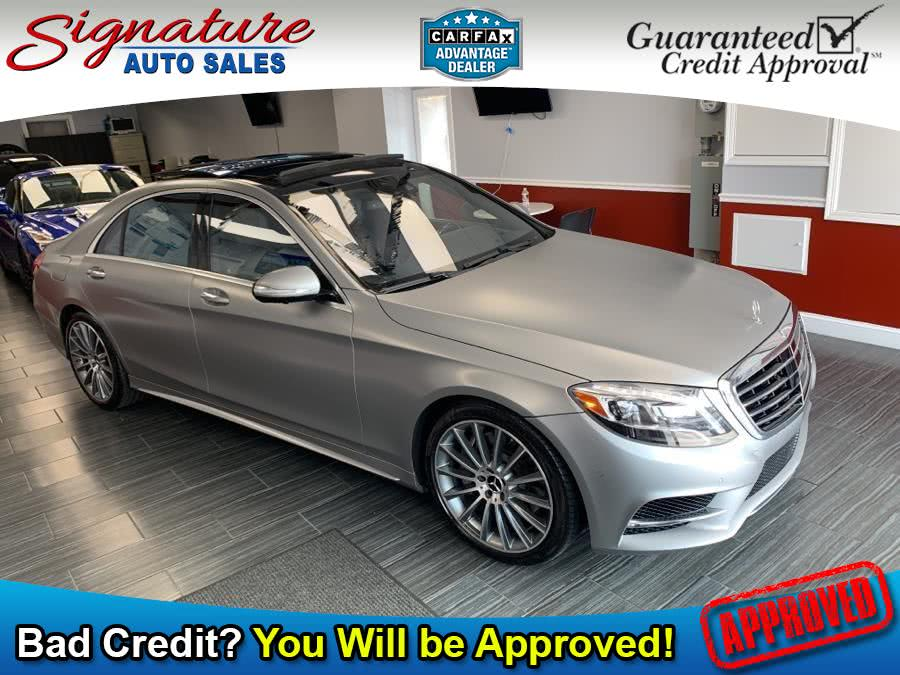 Used 2015 Mercedes-Benz S-Class in Franklin Square, New York | Signature Auto Sales. Franklin Square, New York