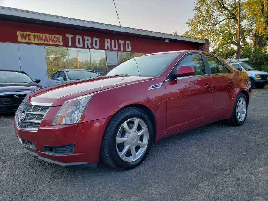 Used Cadillac CTS 4dr Sdn AWD w/1SB Panoramic roof 2009 | Toro Auto. East Windsor, Connecticut