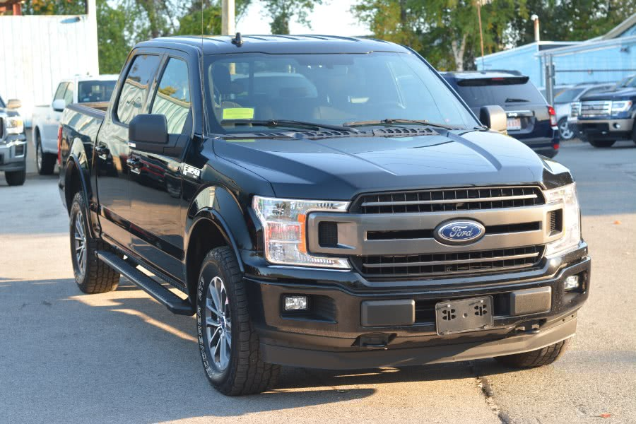 2018 Ford F-150 XLT 4WD SuperCrew 5.5