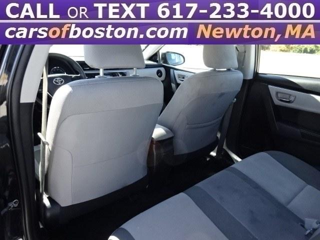 Used Toyota Corolla LE CVT (Natl) 2017 | Motorcars of Boston. Newton, Massachusetts