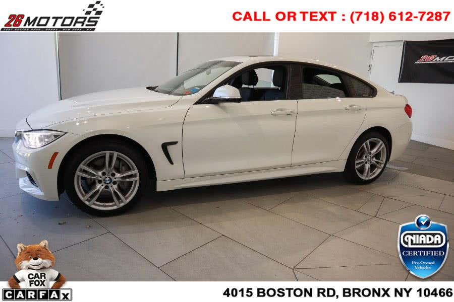 Used BMW 4 Series ///M Sport Package 430i xDrive Gran Coupe SULEV 2017 | 26 Motors Corp. Bronx, New York