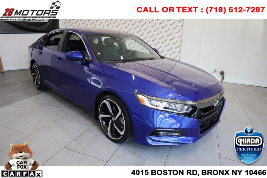 2018 Honda Accord Sedan Sport 1.5T CVT, available for sale in Bronx, NY