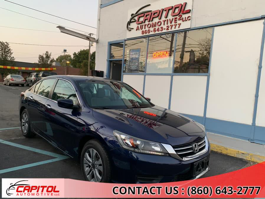 Used 2013 Honda Accord Sdn in Manchester, Connecticut | Capitol Automotive 2 LLC. Manchester, Connecticut