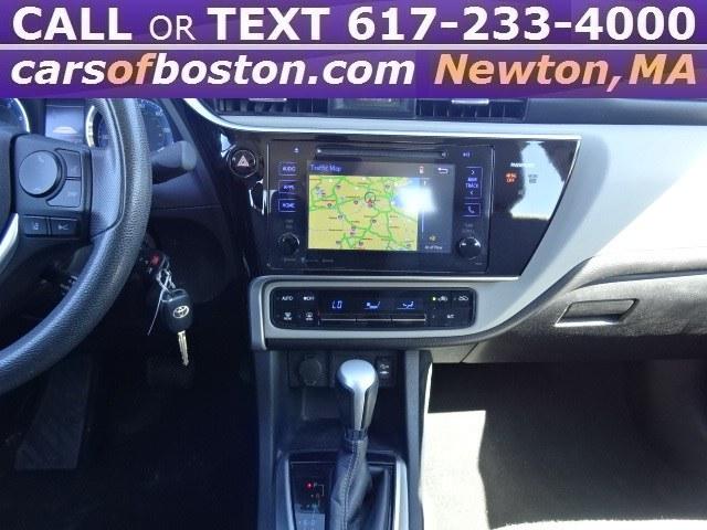 Used Toyota Corolla LE CVT (Natl) 2017   Cars of Boston. Newton, Massachusetts