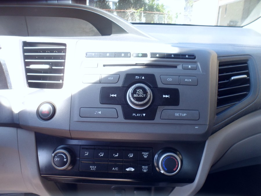 Used Honda Civic Cpe 2dr Auto LX 2012 | Hurd Auto Sales. Bridgeport, Connecticut