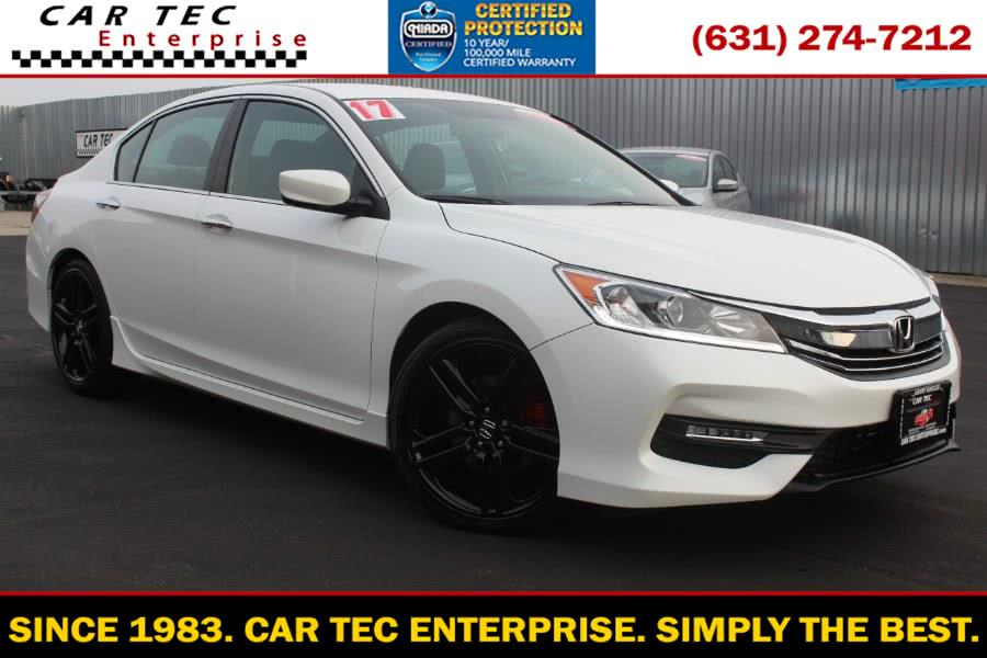 Used 2017 Honda Accord Sedan in Deer Park, New York | Car Tec Enterprise Leasing & Sales LLC. Deer Park, New York