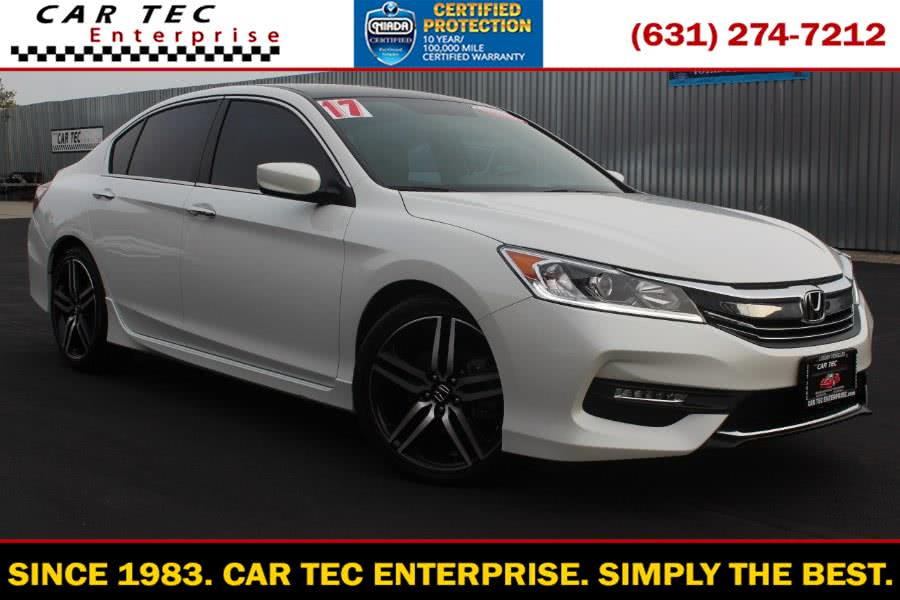 Used Honda Accord Sedan Sport SE CVT 2017 | Car Tec Enterprise Leasing & Sales LLC. Deer Park, New York
