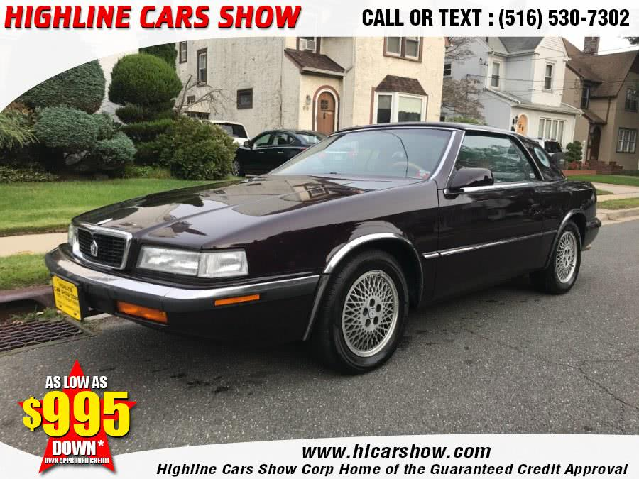 Used Chrysler TC by Maserati TC 1989 | Highline Cars Show Corp. West Hempstead, New York