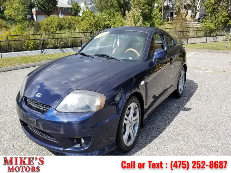 Used Hyundai Tiburon 2dr Cpe GT Limited V6 5-Spd Manual 2006 | Mike's Motors LLC. Stratford, Connecticut
