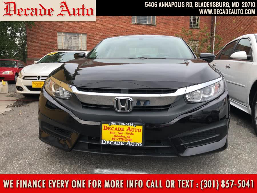 Used 2017 Honda Civic Sedan in Bladensburg, Maryland | Decade Auto. Bladensburg, Maryland